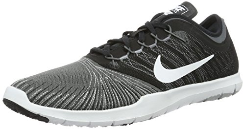 NIKE Women's Flex Adapt TR Cross Training Shoe, Dark Grey/White/Black/Stealth, 9.5 B(M) US