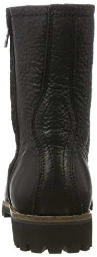 Blackstone Damen Ol24 Biker Boots Schwarz (zwart)