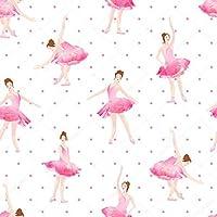 Papel De Parede Infantil Para Menina Bailarina Rosa