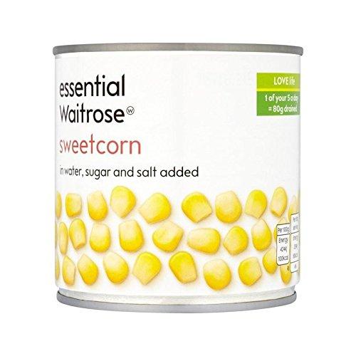 Sweetcorn essential Waitrose 326g - Pack of 6