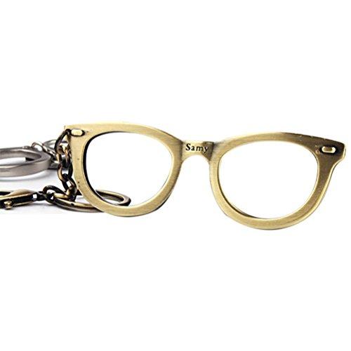 Pixnor Glasses Bottle Opener Keychain