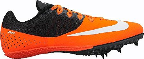 Zoom 806558 Black Shoes 8 801 Track NIKE Rival Orange Spike S Womens 1qCq7