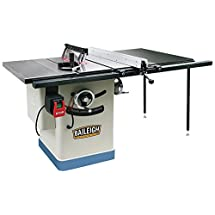 "Baileigh TS-1040E-50 Entry Level Cabinet Style Table Saw, 40"" x 27"" Table, 220V, Single Phase, 10"""