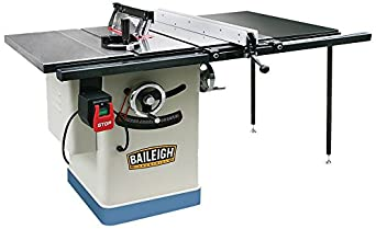 Baileigh Ts 1040e 50 Entry Level Cabinet Style Table Saw