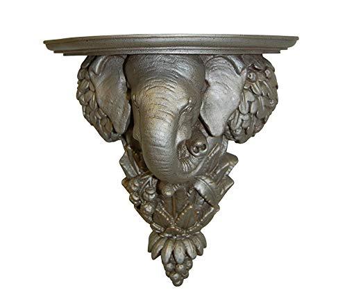 (Home Décor Premium Elephant Shelf Gilt Silver Storage)