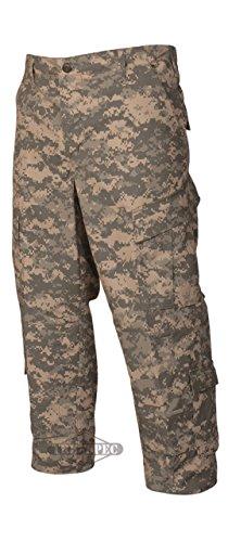 Tru-Spec Army Combat Uniform Pants, 50/50 Nyco Rip, ACU, 3XL, Regular