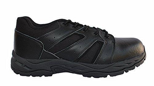 Security Halbschuhe Uso Guantes + Chip de Carrito de la Compra de Tienda Army de BW, Color Negro, Talla 44: Amazon.es: Zapatos y complementos