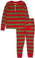 Hatley Big Boys' Pajama Set-Holiday Stripe