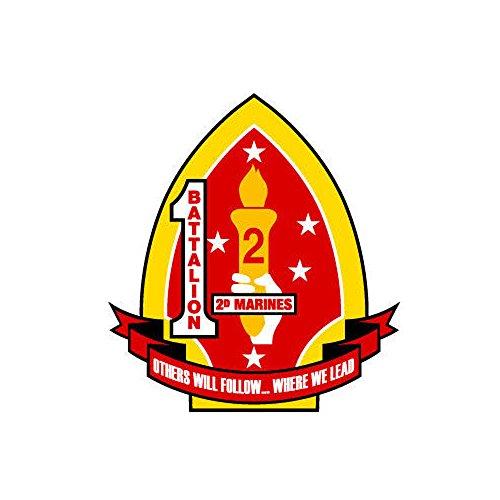 1st-Battalion-2nd-Marines-Regiment-35-inch-USMC-Marine-Corp-decal-Bumper-Sticker