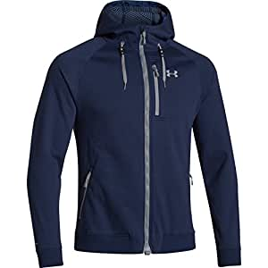 Under Armour ColdGear Infrared Dobson Softshell Jacket - Men's Academy / Steel Small