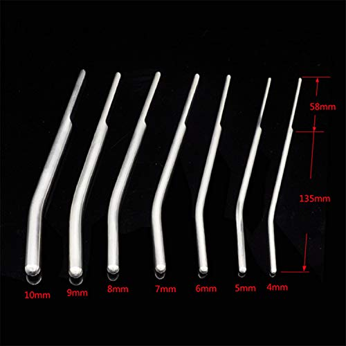 Novelty Toy Stainless Steel Urethral Sound Stimulate Urethral Dilator Masturbation Rod,Urinary Pl-UG,ÀdÙlt Game SÉx Toy for Men,Penis-Pl-UG by Jeff Tribble (Image #3)