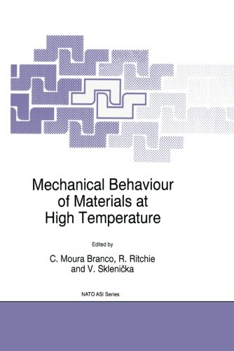 Mechanical Behaviour of Materials at High Temperature (Nato Science Partnership Subseries: 3)