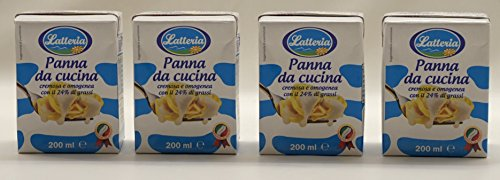 latteria-italian-panna-da-cucina-double-cream-67-fluid-ounce-200ml-packages-pack-of-4-italian-import