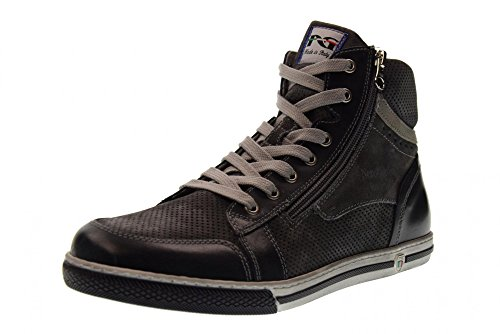 Nero Giardini Scarpe Uomo Sneakers Alte P800252U/201 blu