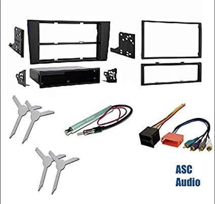 2007 audi a4 symphony wiring radio amazon com premium car stereo install dash kit  wire harness  and  premium car stereo install dash kit