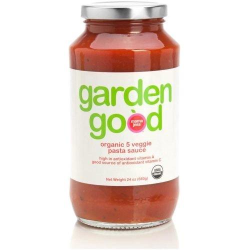Mama Jess Organic Garden Good 5 Veggie Pasta Sauce, 24 Ounce -- 6 per case.