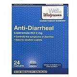 Walgreens Anti-Diarrheal, Capsules, 24 ea