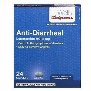 Walgreens Anti-Diarrheal, Capsules, 24 ea by Walgreens