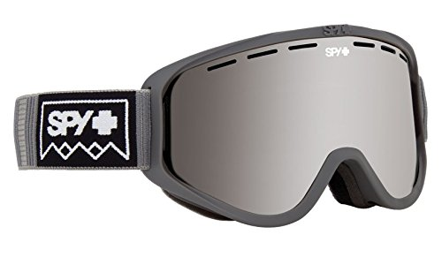 Spy Optic Woot Snow Goggles   Small Medium Sized Ski  Snowboard Or Snowmobile Goggle   Clean Design And All Day Comfort   Scoop Vent Tech   Deep Winter Gray