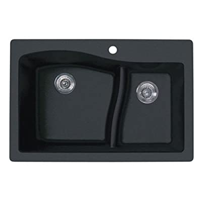 Swanstone 1-Hole Dual Mount Kitchen Sink