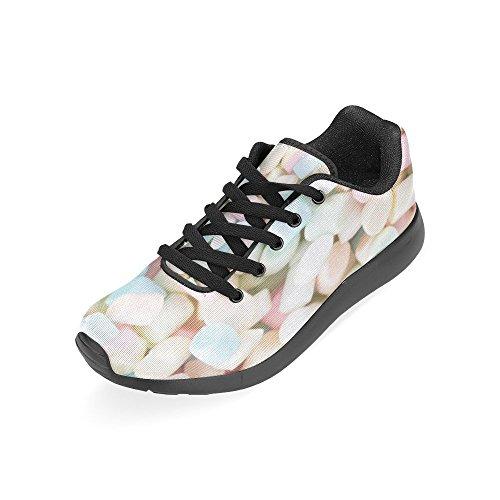Chaussures De Course De Route Des Femmes Dimpressionprint Jogging Sports Légers Marchant Des Espadrilles Sportives Multi 6