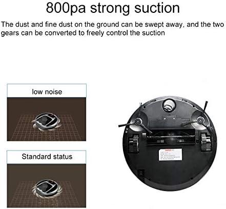 HUANGMENG Robot Intelligent FD-3RSW (IB) CS 800Pa Robot Aspirateur Domestique Intelligent Nettoyer avec Télécommande