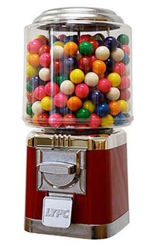Classic Candy & Gumball Machine (Red) by Gumball Machine Factory LYPC 1239