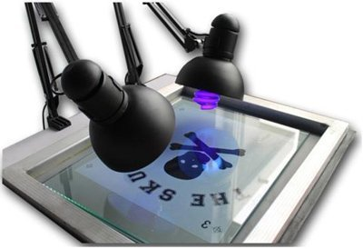 Screen Printing UV Exposure Unit 20x24 Screen Plate Curing Down Burning Machine 110V(Item#006800)