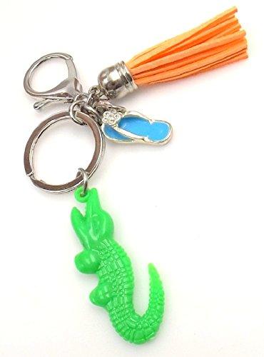 Florida Keychain Alligator Gator Car Pocket Accessory Personalized