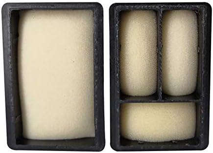 ZET Remanufactured Ink Cartridge Replacement for HP 662XL 662 XL CZ105AL CZ106AL 2 Black, 2 Color