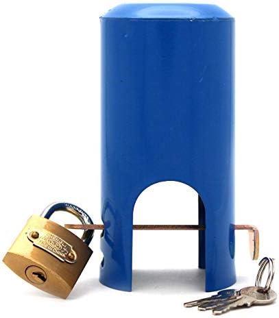 f/ácil de instalar grifo al aire libre sistema de bloqueo a evitar el robo y el vandalismo protecci/ón grifo mioni aislado manguera de jard/ín y la carcasa y la tapa de bloqueo ahorro de agua