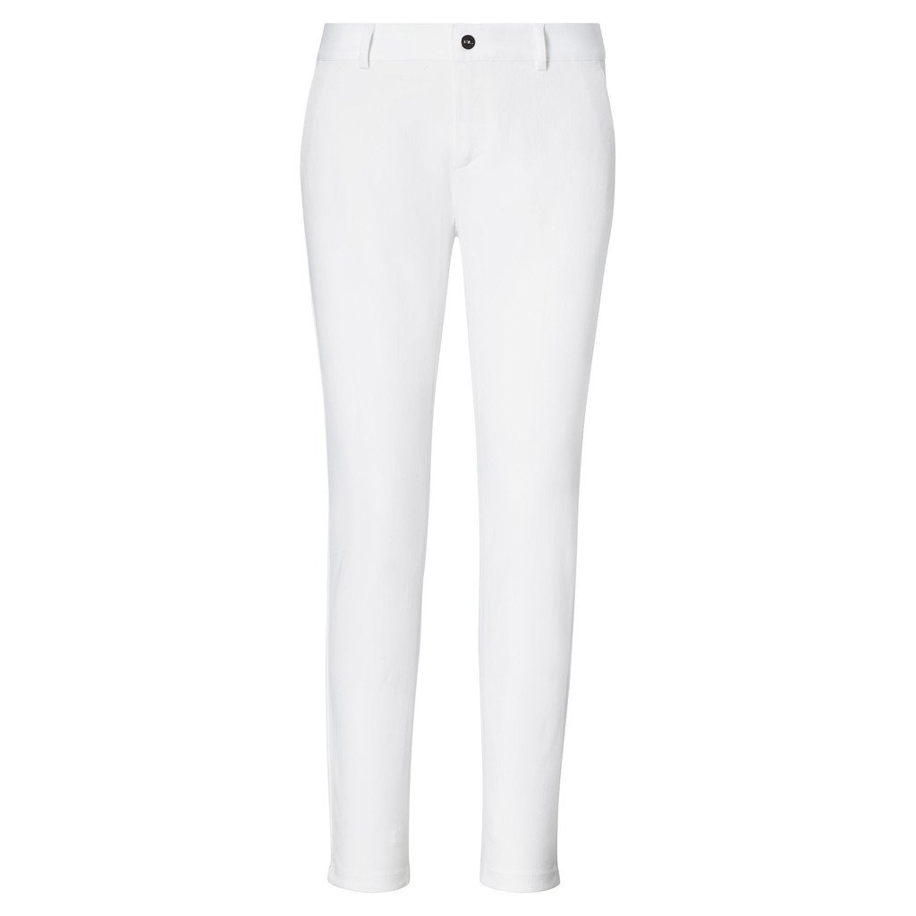 Ralph Lauren Cropped Twill Trousers Pure White 10
