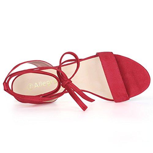 Basse donna Red Allegra Scarpe K Stringate qCIEqw7p