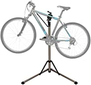 Bike Repair Stand - Home Portable Bicycle Mechanics Workstand Height Adjustable Aluminum Alloy Foldable Bicycl