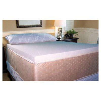 Memory Foam Topper Depth: 2.5', Size: King