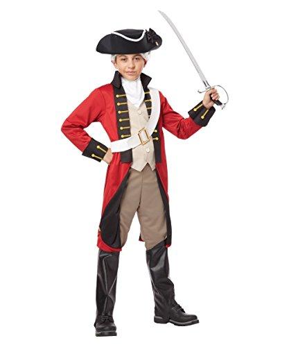 British Redcoat Child Costume - X-Large