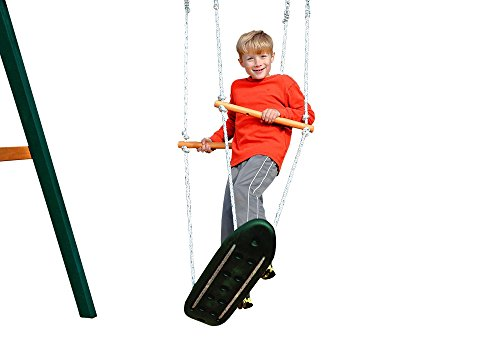 Gorilla Playset Accessories Skate Board Swing Review