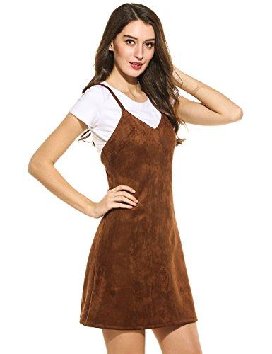 brown dress - 5