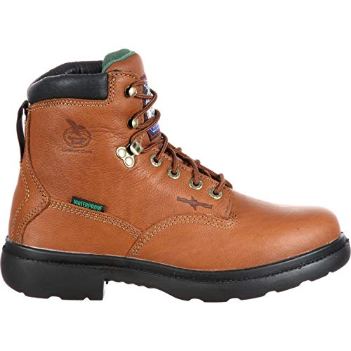 Pictures of Georgia Farm and Ranch Waterproof Boots G6503 Briar Brown 2