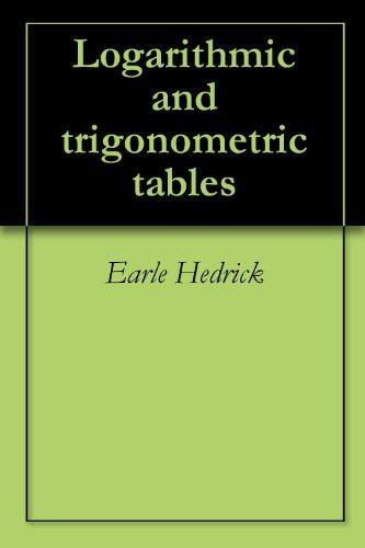 Logarithmic and trigonometric tables ()