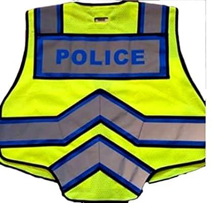 Amazon.com: Fire Ninja Police Chaleco reflectante clase 2 ...