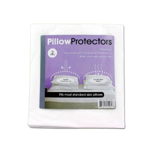 Kole Imports Pillow Protectors, 2-Pack GR014