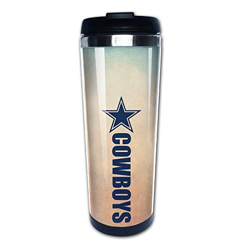 Boomy Funny Dallas Star Boys Stainless Steel Vacuum Cup For Indoor & Outdoor Office School Gym - Prescott Portland The
