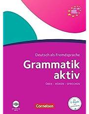 Grammatik aktiv: A1-B1 - Üben, Hören, Sprechen: Übungsgrammatik mit Audio-CD: Učebnice + CD (lex:tra)