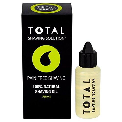 Total Shaving Solution Natural Shaving Oil 25ml Total Shave Solution