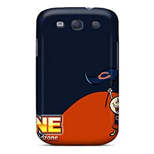 Samsung Galaxy S3 DOd6241OgFp Support Personal Customs Trendy Chicago Bears Pictures Anti-Scratch Cell-phone Hard Covers -KennethKaczmarek