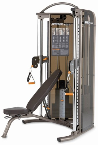 Precor S3.23 Functional Trainer and Bench Combo