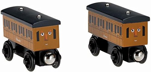 きかんしゃトーマス 木製レールシリーズ アニーとクララベル (Y4422) [並行輸入品] B011ZW2IDI