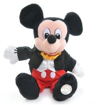 Walt Disney World The Millennium Collectable Disney Mini Bean Bags PARK COSTUME MICKEY by Disney -