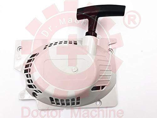 Doctor Machine Griglia con Messa in Moto Avviamento Manuale Completo per Motosega 52cc 5200